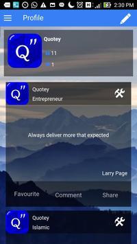 Quotey - Everyday Quotes screenshot 1