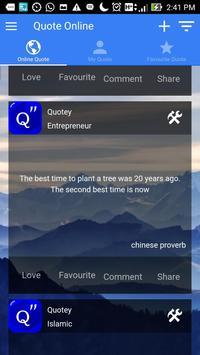 Quotey - Everyday Quotes screenshot 2