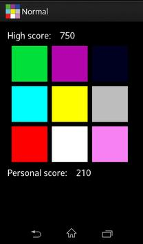 Remember Squares Free apk screenshot