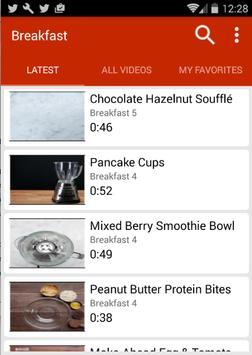 Breakfast Recipes (Video) apk screenshot