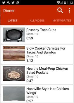 Dinner Recipes (Video) poster