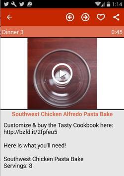 Dinner Recipes (Video) apk screenshot