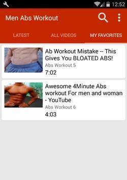 Abs Workout For Men screenshot 3
