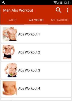 Abs Workout For Men screenshot 1