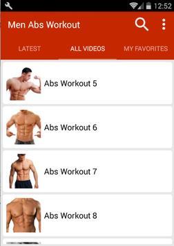 Abs Workout For Men screenshot 2