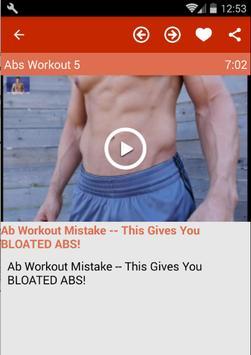 Abs Workout For Men screenshot 4