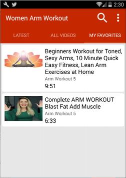 Arm Workout For Women screenshot 3