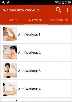Arm Workout For Women screenshot 1
