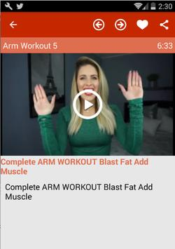 Arm Workout For Women screenshot 4