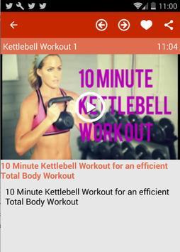 Kettlebell Workouts For Women screenshot 3