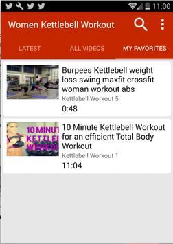 Kettlebell Workouts For Women screenshot 4