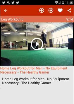 Leg Workout For Men Apk Screenshot