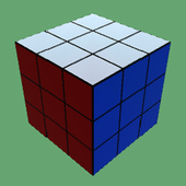 Simple Cube 3D icon