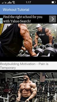 Pro Gym Trainer 2018 apk screenshot