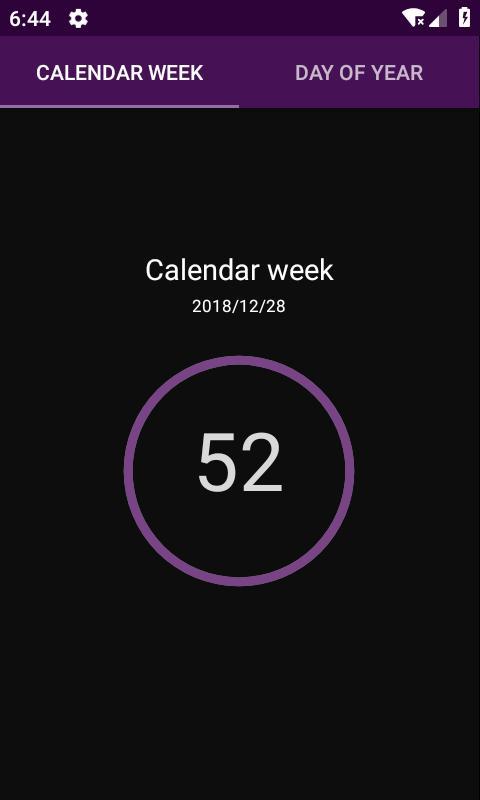 calendar week number poster calendar week number apk screenshot