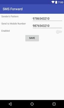 SMS Forwarder screenshot 1