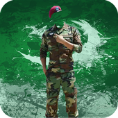 Pak Commando Army Suit Editor icon