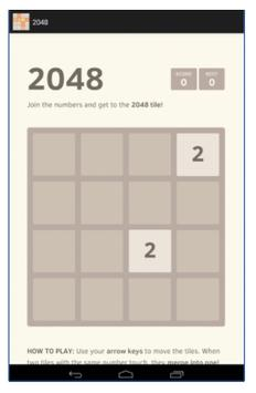 2048 Two screenshot 1
