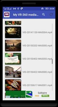 My VR-360 Media Player screenshot 4