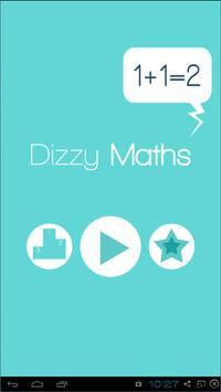 Dizzy Maths poster