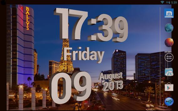 Best 3D Clock apk screenshot