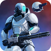 CyberSphere: SciFi Shooter أيقونة