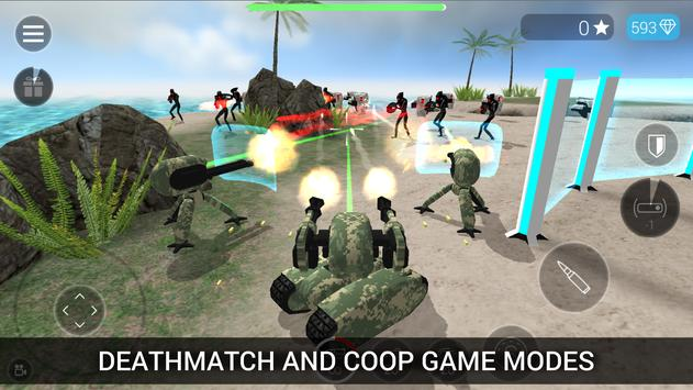 CyberSphere: SciFi Shooter apk تصوير الشاشة