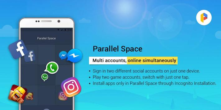 Parallel Space - Multiple accounts & Two face apk screenshot