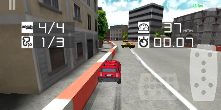 4x4 Offroad Rally in City screenshot 3