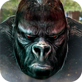 Monkey Kong 💀 Gorilla Skull - Monster Simulator icon