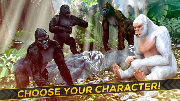 Monkey Kong 💀 Gorilla Skull - Monster Simulator apk screenshot
