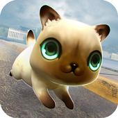 Kitty vs Baby Dragons Race icon