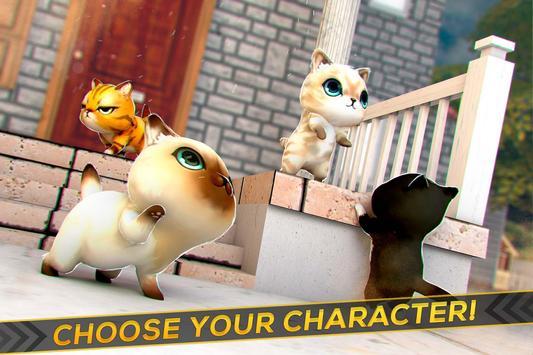 Kitty vs Baby Dragons Race apk screenshot