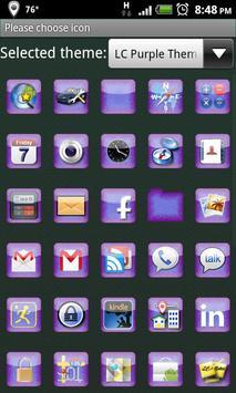 LC Purple Theme Apex/Go/Nova apk screenshot