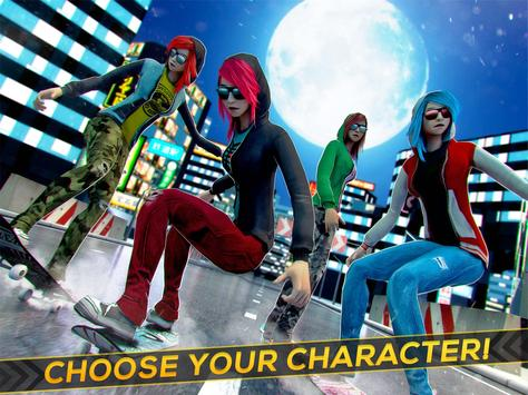 Skater Girls! Skateboard Clan apk screenshot