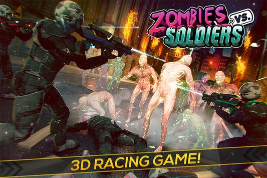 Zombies vs Soldiers: Free Game poster