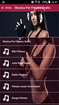 Fitness Music Free, Fitness Music FM Radio screenshot 1