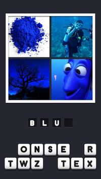 4 Pictures 1 Word poster