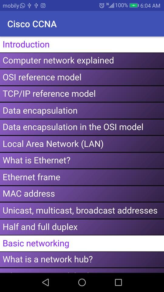 Cisco CCNA for Android - APK Download