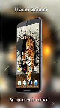 Tiger 3D Wallpaper apk screenshot