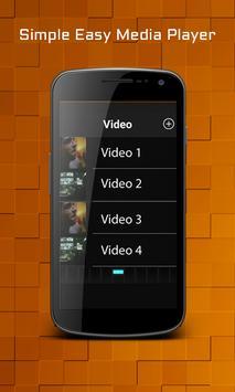Simple Easy Media Player apk screenshot