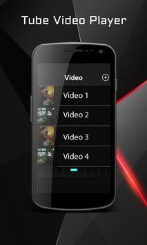 Tube Video Player Free apk screenshot