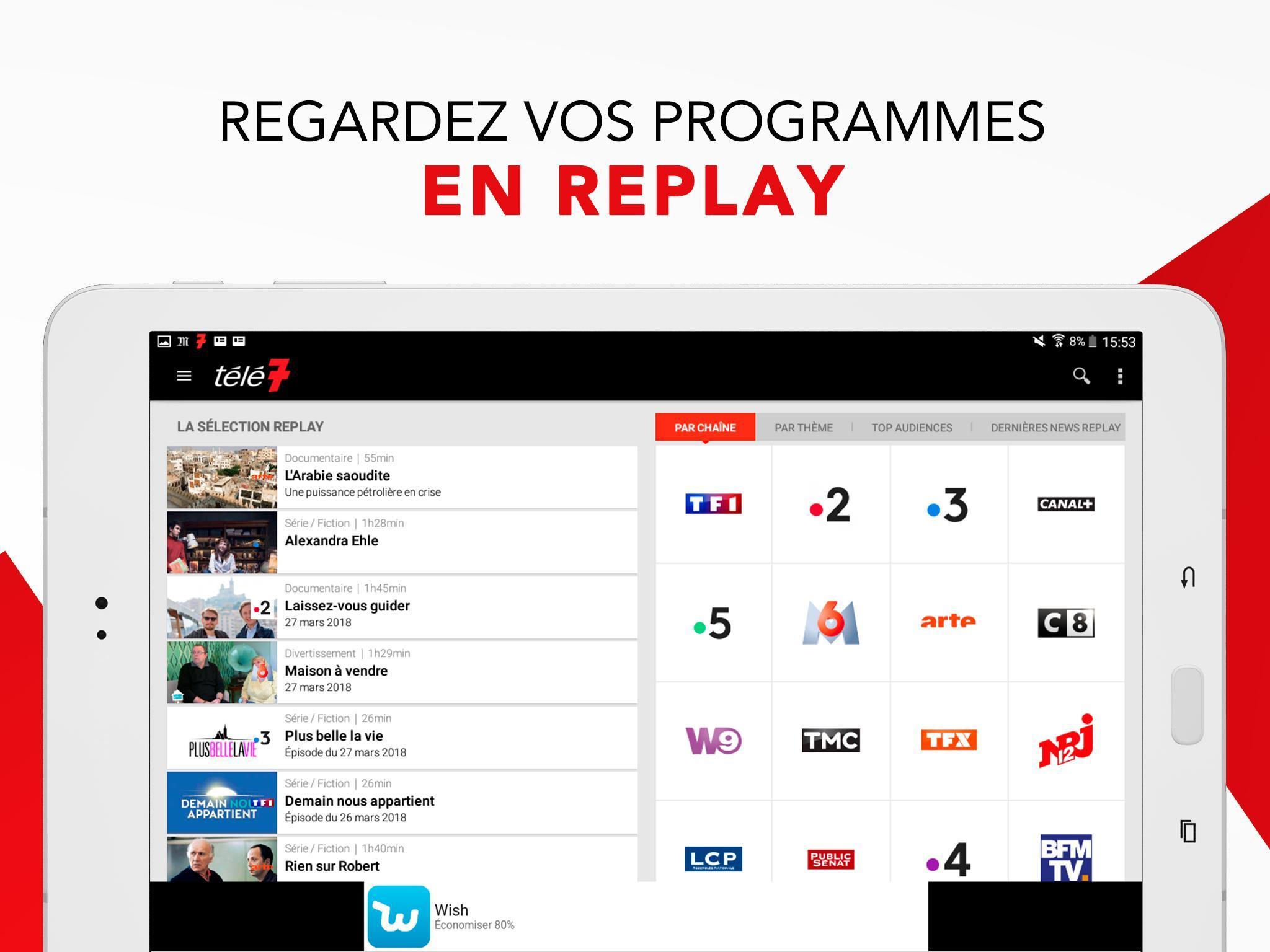 Programme Tv Télé 7 Jours для андроид скачать Apk