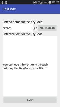 KeyCode poster