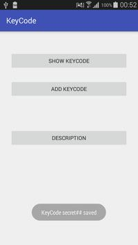 KeyCode screenshot 1
