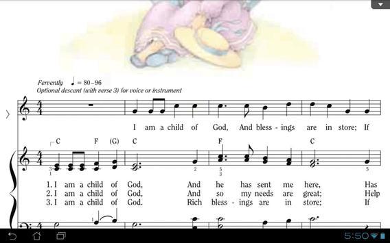 LDS Children's Songbook screenshot 4