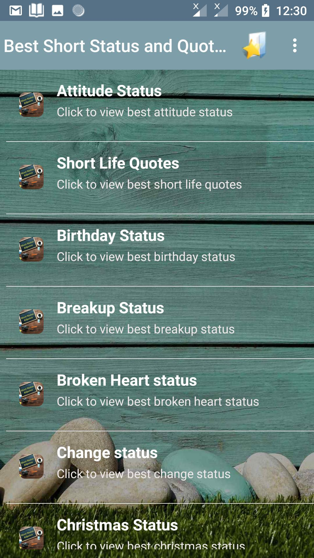 Best Short Status and Quotes for Android - APK Download