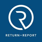Return + Report icon