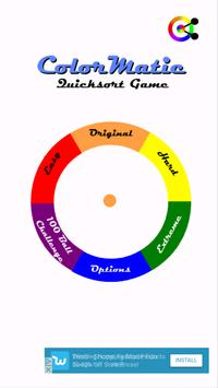 ColorMatic - Quicksort Game poster