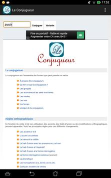 Le Conjugueur screenshot 16